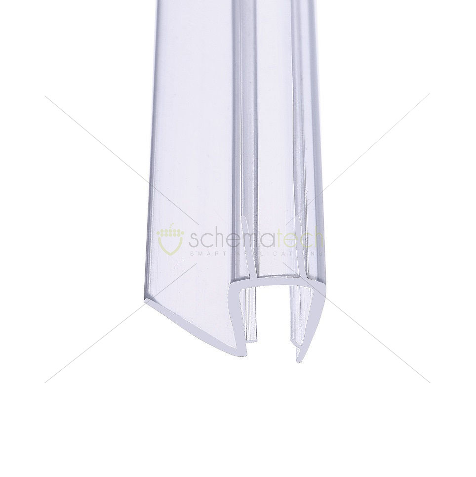 Drip And Wipe Seal Double Fin Clear Seals Seals Showers